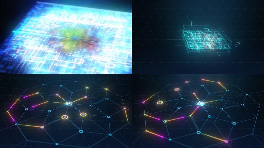 intel芯片视频素材