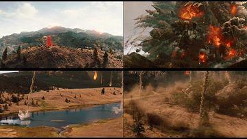 世界末日火山爆发爆炸视频