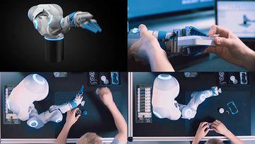 机械手臂视频素材