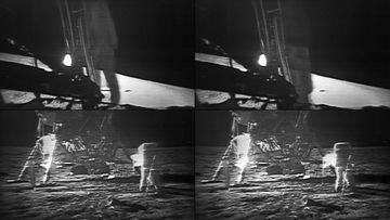 人类第一次登上火星的画面视频