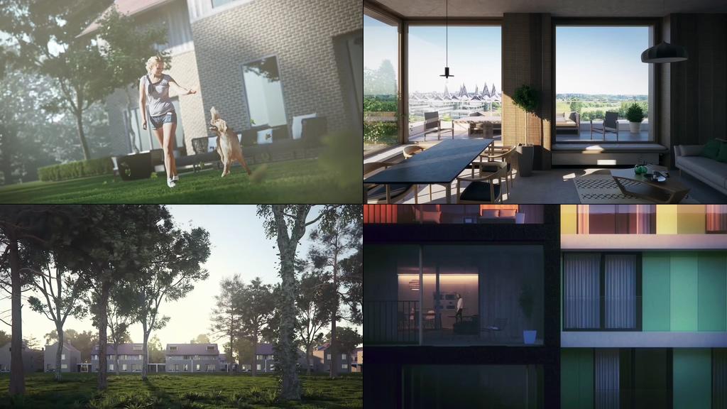 房地产楼盘宣传片视频素材
