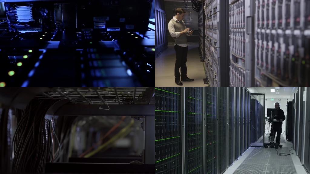 网盘处理器服务器视频素材