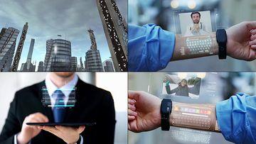 未来穿戴设备视频素材