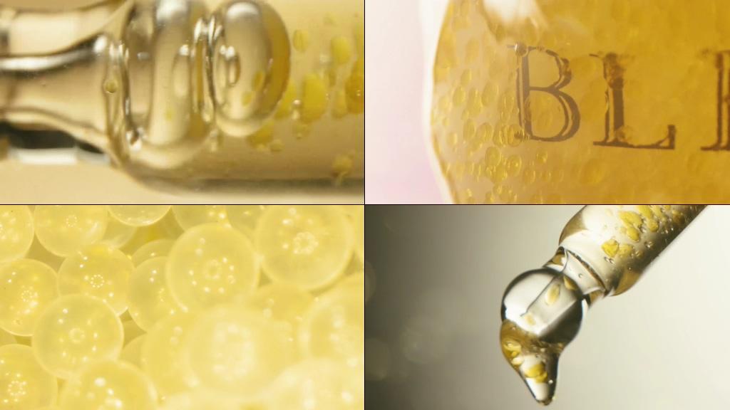 化妆品微量元素精华液视频
