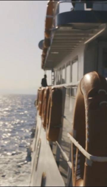 远航的轮船视频素材