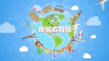 旅游旅行MG动画片头AE模板