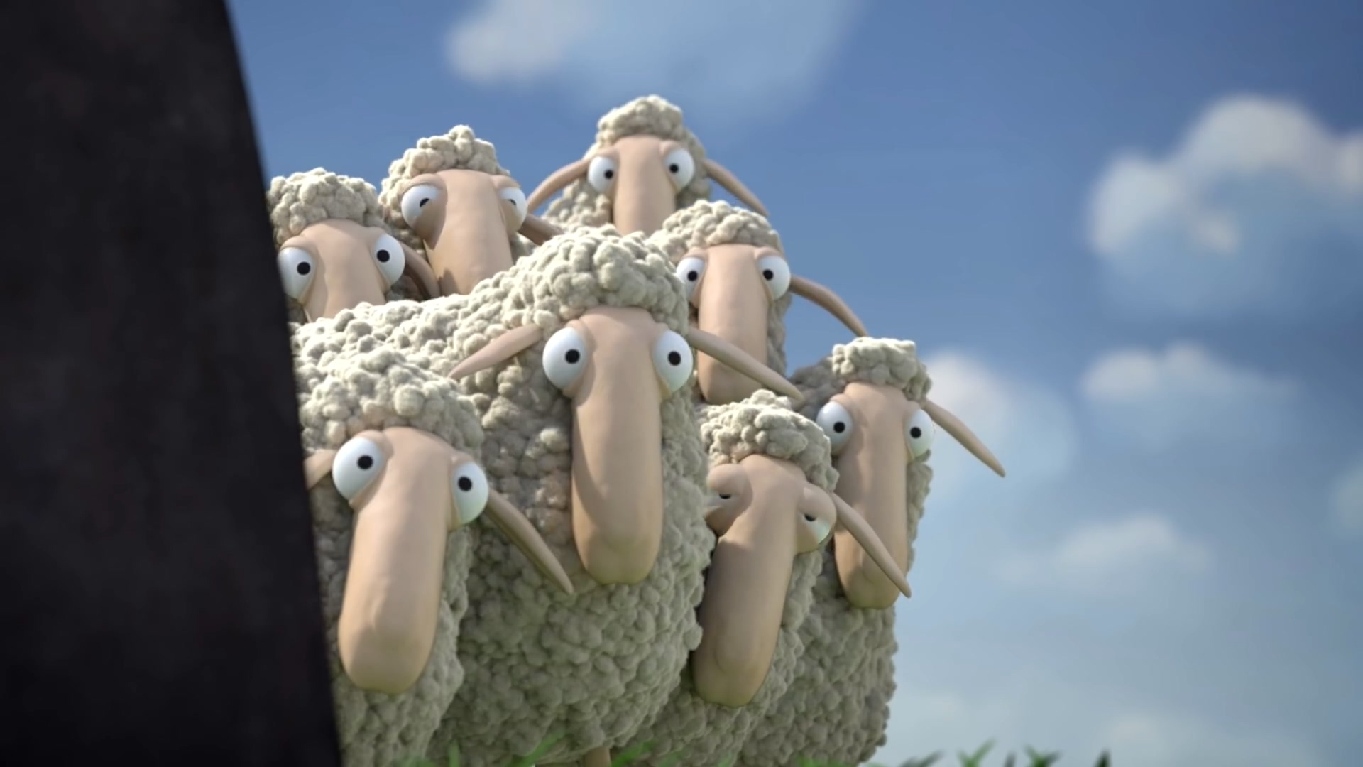 噢!绵羊-作品欣赏