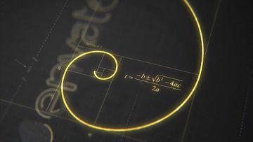 设计师黄金分割标志AE模板