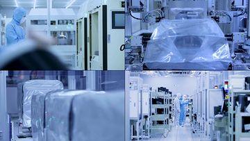 无菌生产车间工厂视频素材