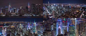 繁华的纽约市中心视频素材