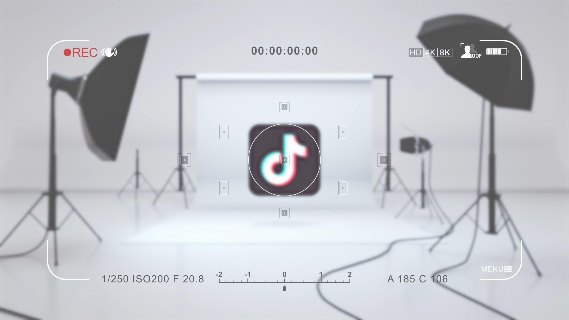 抖音拍摄LOGO展示PR模板