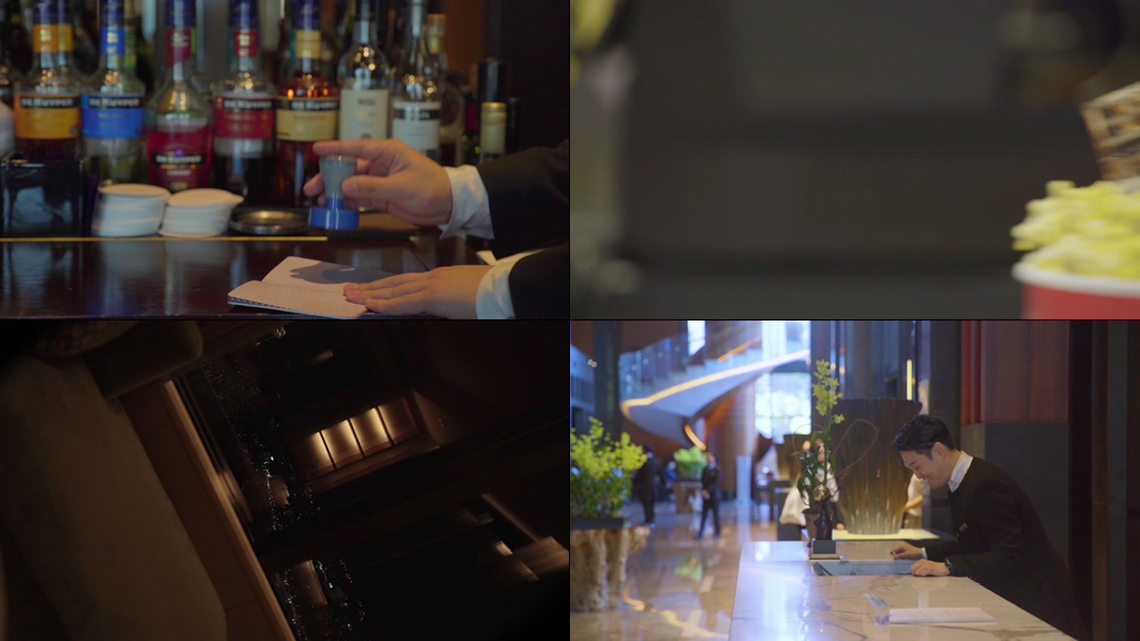 护照出国旅行的美女视频素材