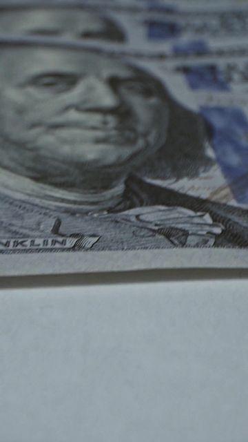 美元特写视频素材