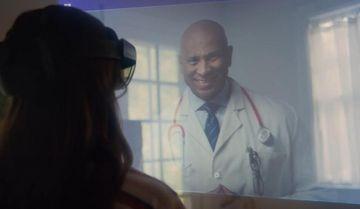 4K未来远程医疗面诊视频素材