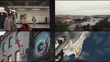 4K捷克共和国首都视频素材