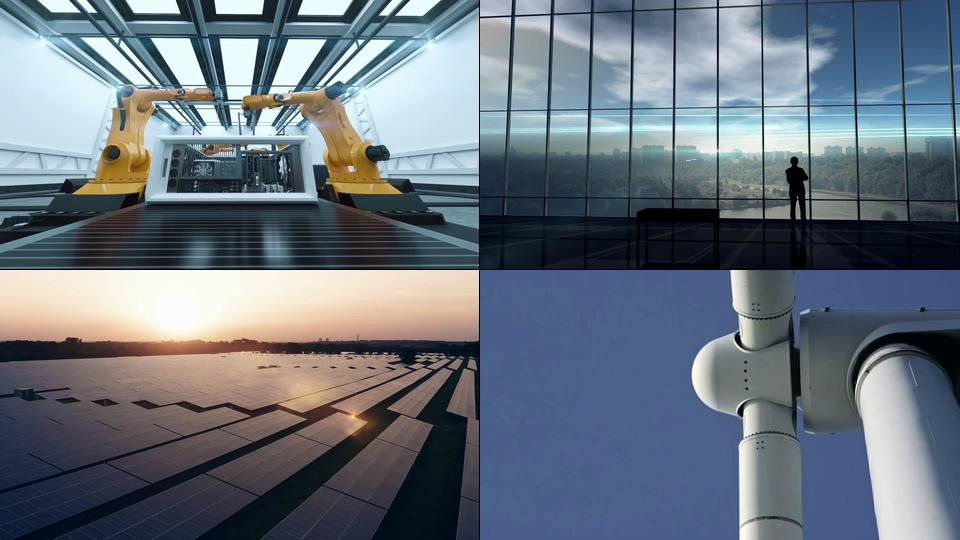 电力能源公司视频素材