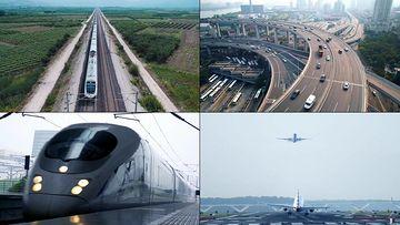 宣传片各种交通工具视频素材