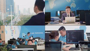 泰国电子商务公司企业视频素材