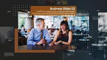 Business Slides mogrt模板