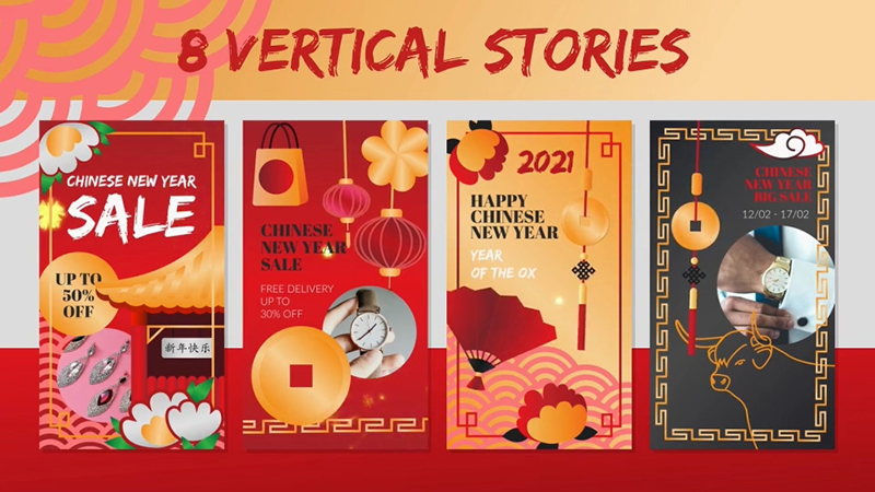 中国新年实用MORGT模板包