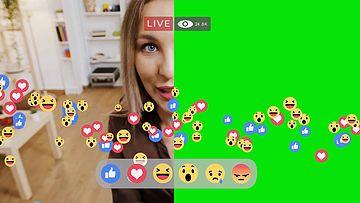 剪辑软件如何使用绿幕视频素材?