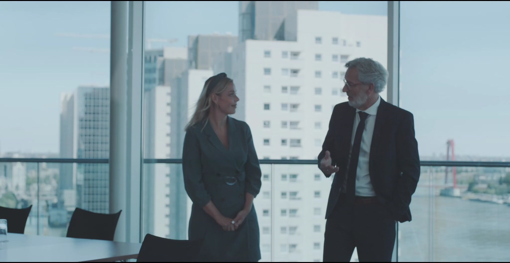 4K商务见面洽谈业务礼貌