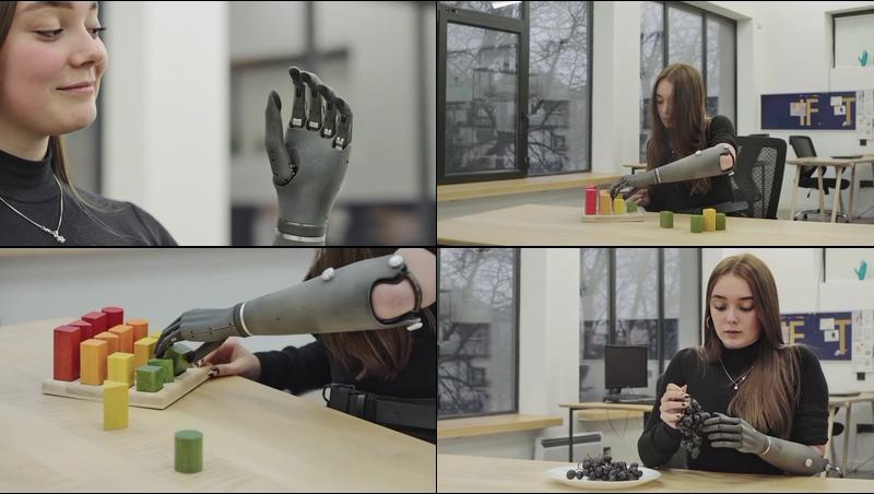 仿生假肢AI科技视频素材