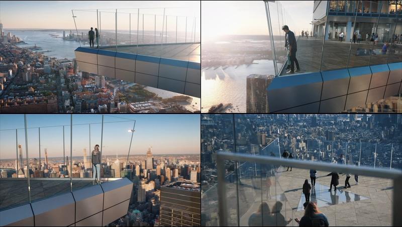 纽约最高的户外空中平台