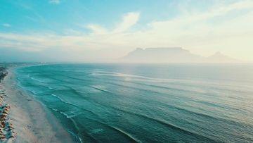 一望无际的大海视频素材