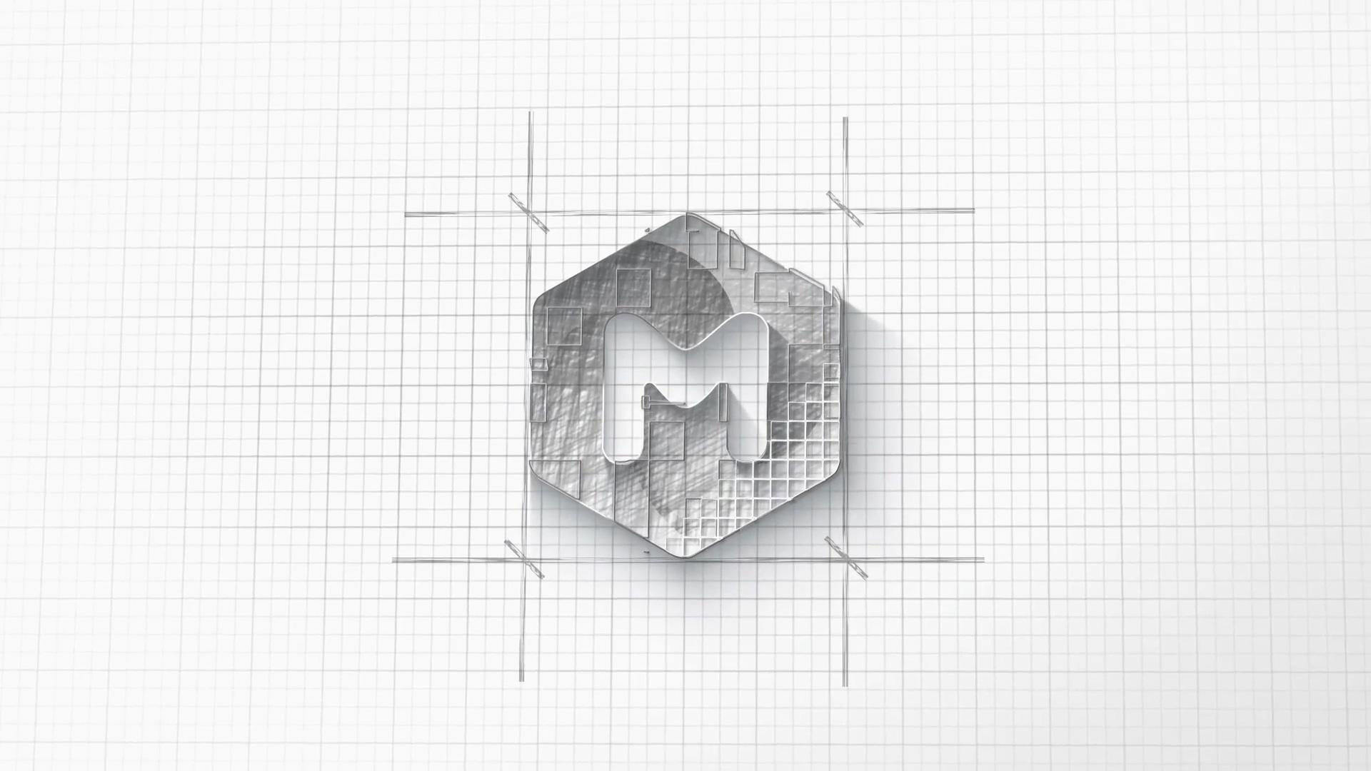 建筑师徽标内部版本AE模板