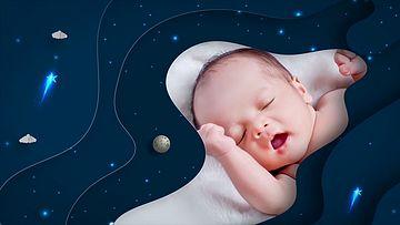 妈妈和宝宝的幻灯片AE模板