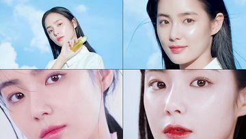 化妆品实用小清新美女多款式
