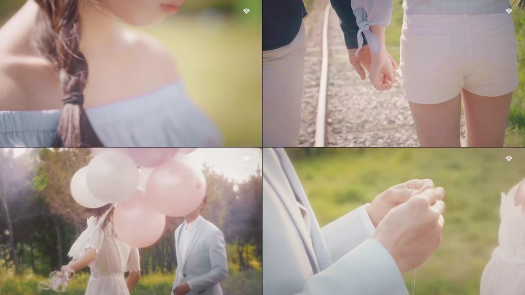 温馨恋爱情侣视频素材