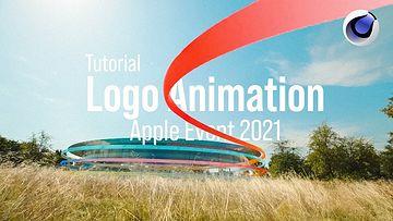 C4D视频教程-Apple Event 2021徽标制作