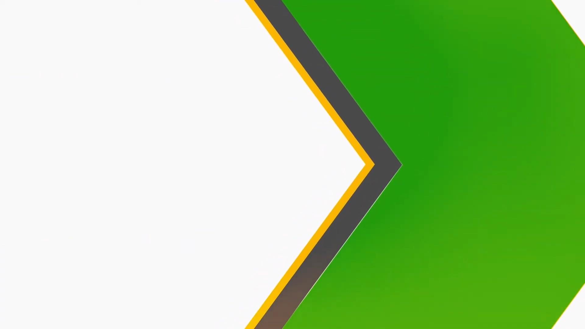 箭头展示绿幕视频素材