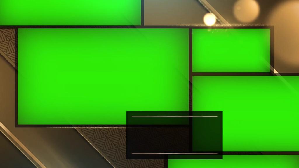 颁奖典礼金色光斑绿幕视频素材