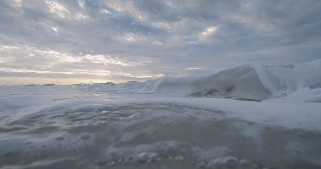 4K浪花冲击镜头视频素材