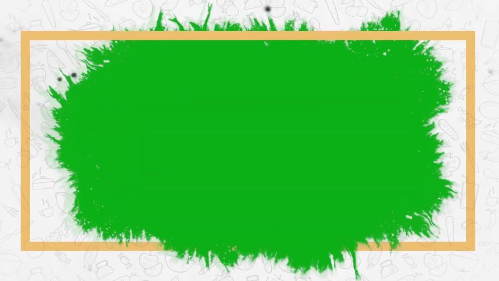 美食展示绿幕模板
