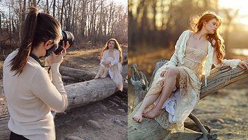 黄金(黄昏)时段自然光拍摄技巧摄影教程