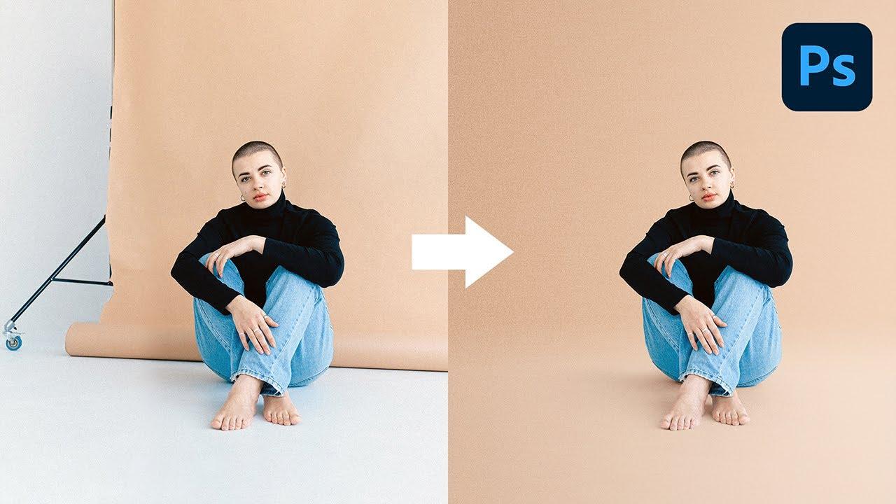 使用Photoshop创建完美无瑕的背景