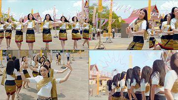 泰国人文傣舞视频素材