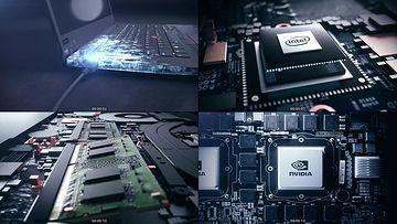 电脑硬件视频素材下载