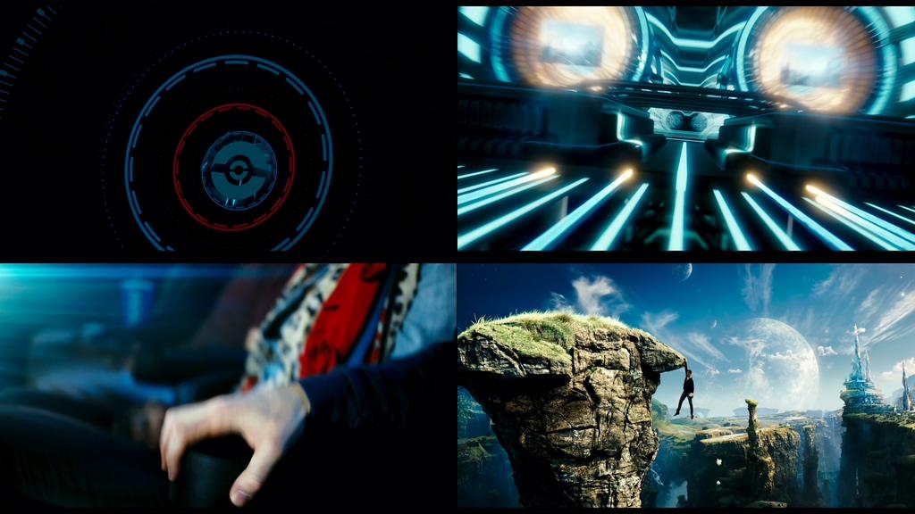 4K IMAX影院观影体验视频素材