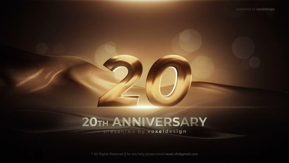 周年纪念开场片头AE模板