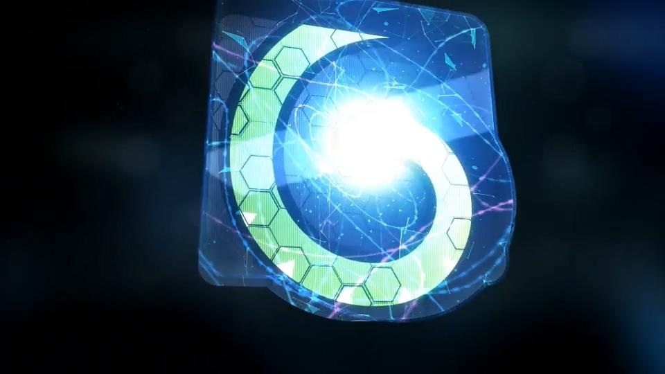 能量水晶标志AE模板