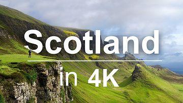 苏格兰4K超高清HDR视频素材