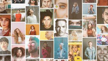 Mosaic多照片标志PR模板