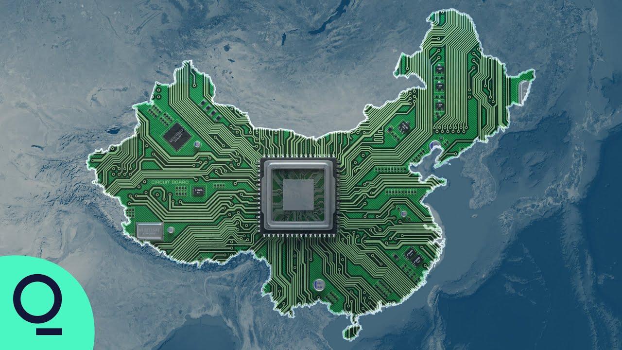 4K中国研发芯片的决心和速度视频素材完整版