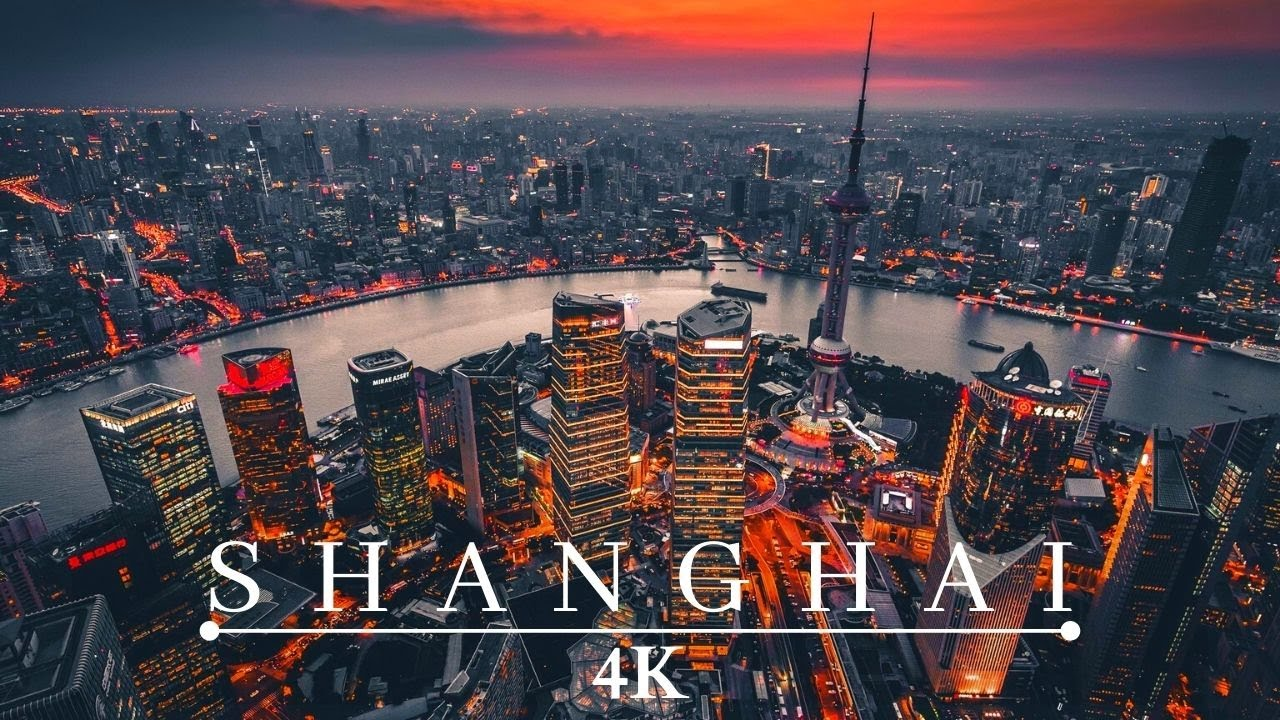 4K史诗60帧上海延时摄影视频素材完整版