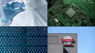 4K中国研究芯片之路视频素材